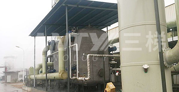 三梯蒸汽脱附+冷凝回收系统优势