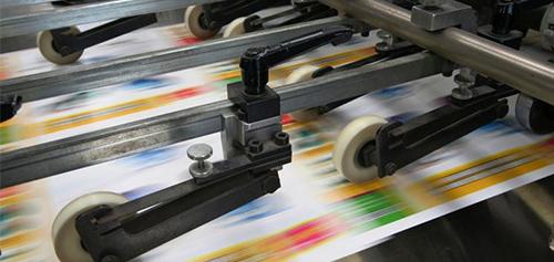 印刷和烘干阶段