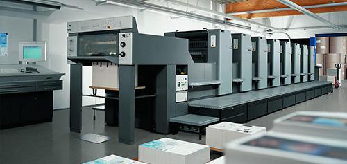 印刷和胶粘复合阶段