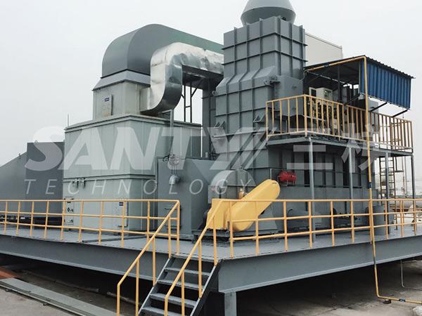 新材料新能源废气处理