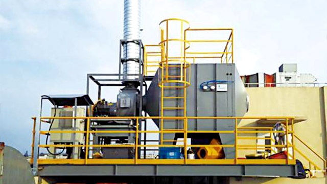 废气处理设备方案:转轮+催化燃烧一体机解读