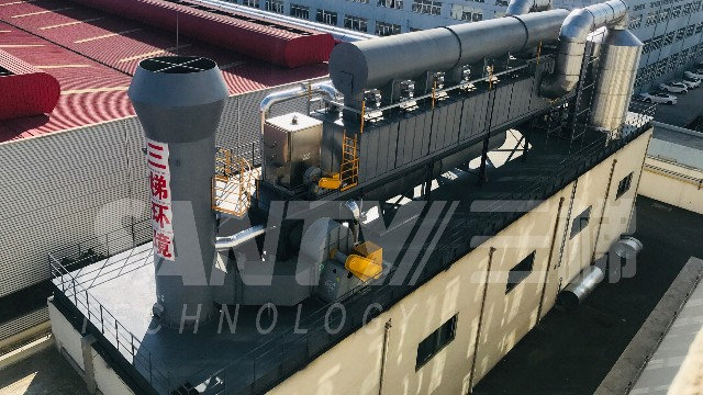 沸石转轮催化燃烧装置