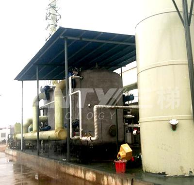 活性炭吸附-蒸汽脱附-冷凝回收装置