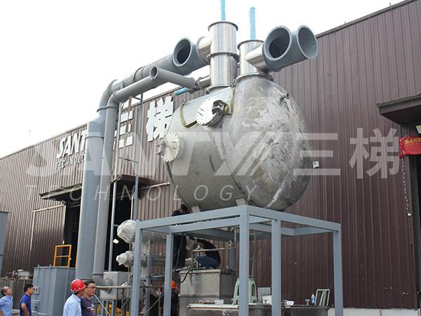 活性炭吸附+蒸汽脱附+冷凝回收装置