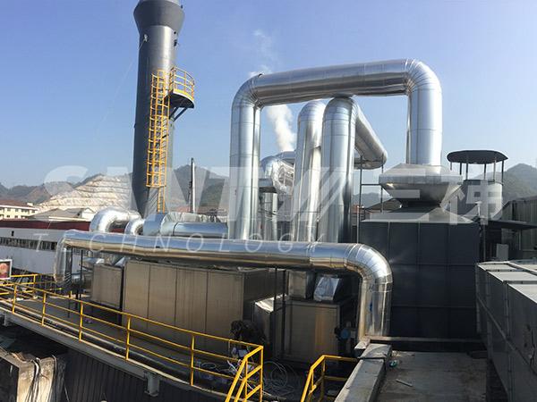 沸石浓缩转轮+催化燃烧装置(CO)