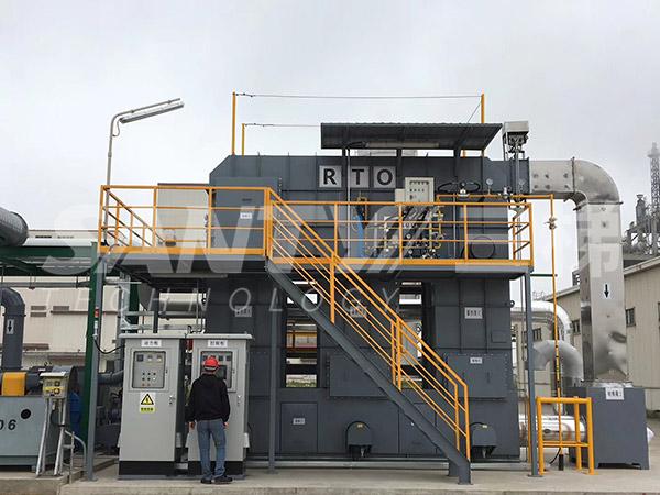(RTO)蓄热式焚烧炉