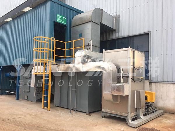 催化燃烧处理VOCs废气处理