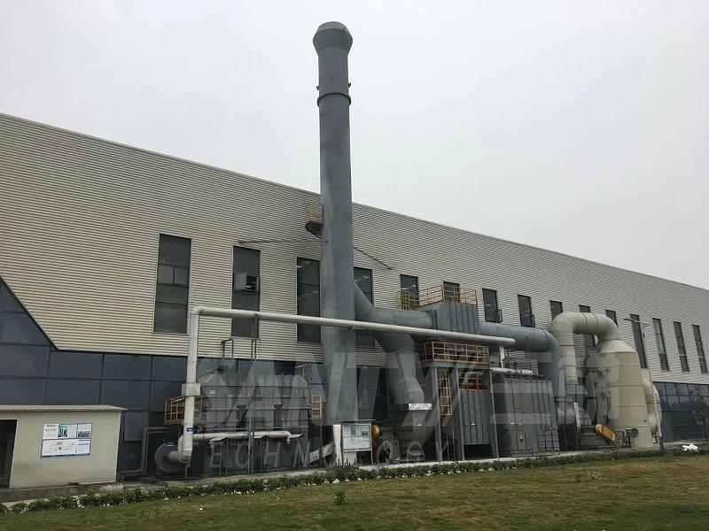 沸石转轮RTO焚烧炉设备